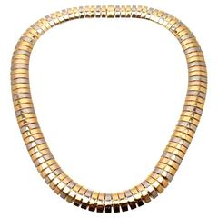 Cartier Tricolor Gold Snake Necklace