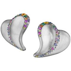 Naomi Sarna Confetti Heart Earrings