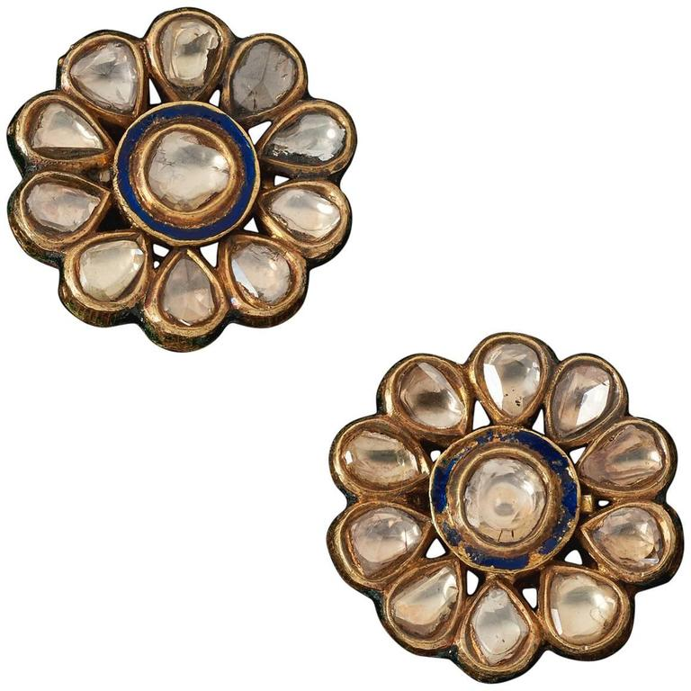 collection earrings antique buy saachi online silver pure jewellery temple ko products the jhumka