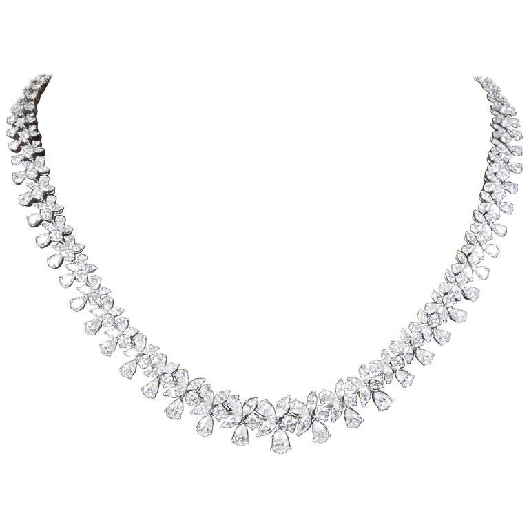Classic 26 carat Diamond Necklace