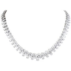 Classic 26 Carat Diamond Necklace