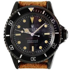Rolex Bamford & Sons Stainless Steel Submariner Wristwatch Ref 5513