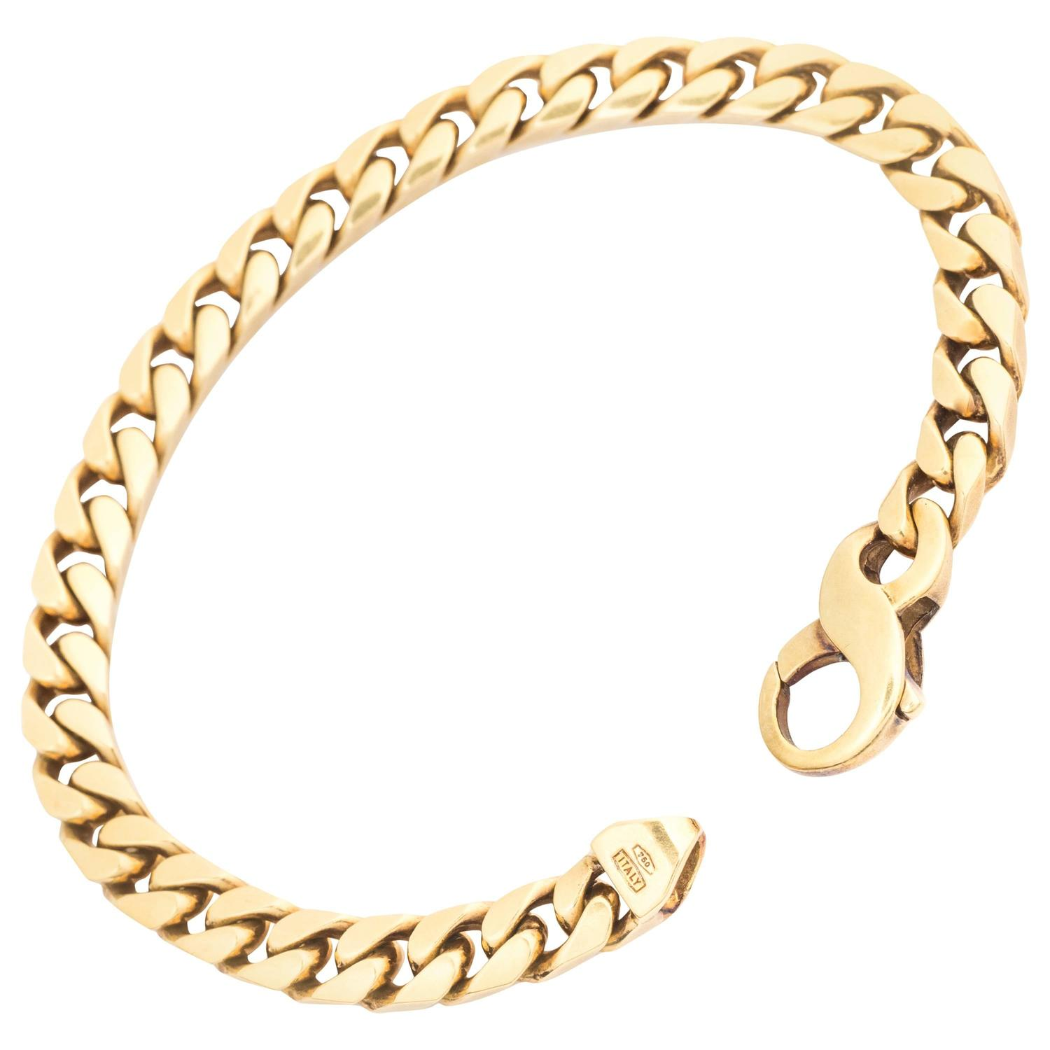 karat chain jewelry link isla bracelet watches necklace free product clasp gold plated with today rope shipping simone overstock electro com