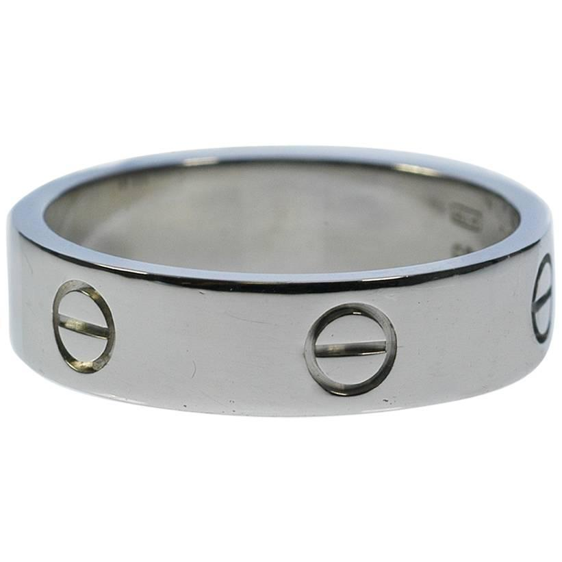Cartier Mens Gold Love Wedding Band Ring For Sale At 1stdibs