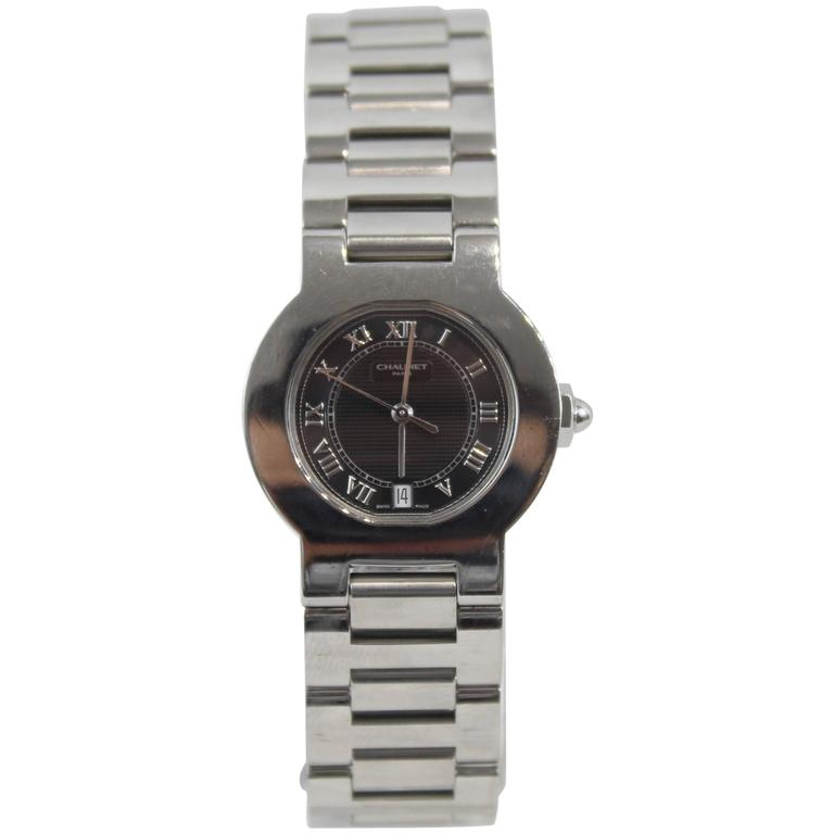 Chaumet Stainless Steel Automatic Wristwatch