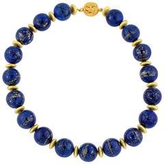 Intense Lapis Lazuli Necklace
