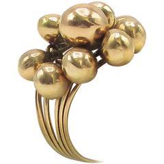 Retro Gold Ring