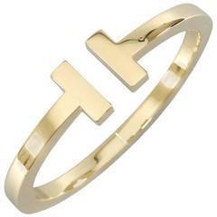 Tiffany & Co. Gold T Bracelet