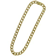Cartier Gold Link Chain Necklace