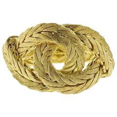 Buccellati Oro Gold Knot Ring