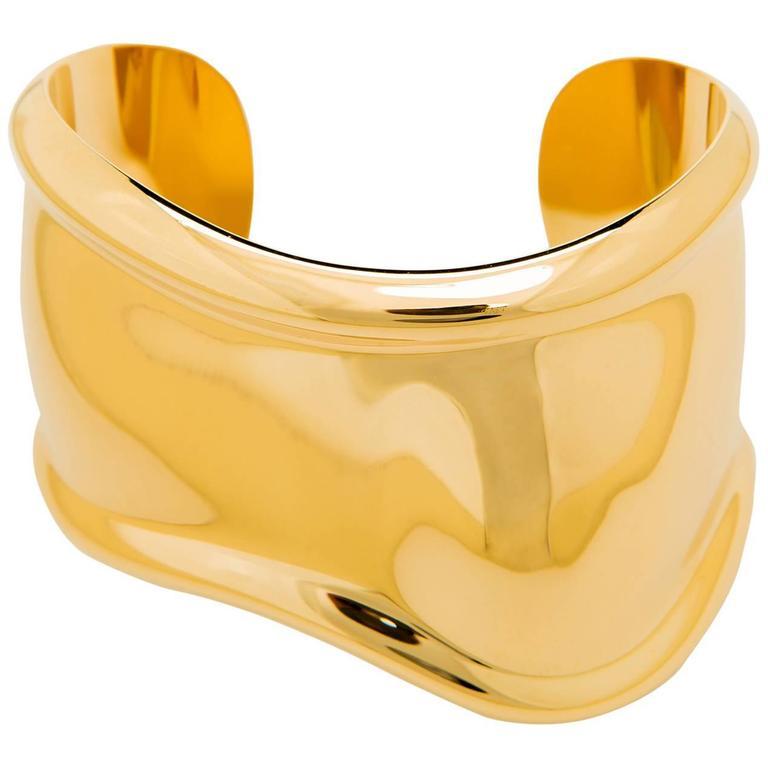 b495e93d9 Tiffany and Co. Elsa Peretti Bone Cuff Bracelet at 1stdibs