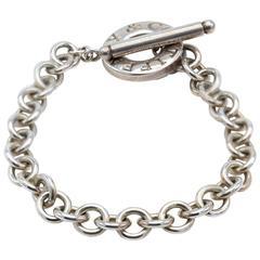 Tiffany & Co. Sterling Silver Open Link Bracelet