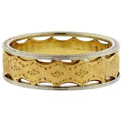 Buccellati Gold Wedding Band Ring