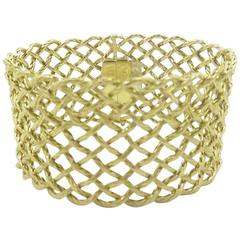 Buccellati Gold Crepe de Chine Bracelet