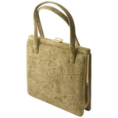 Mid-20th Century Hippo Handbag Purse