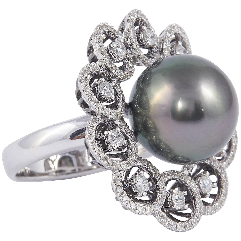 100 [ Pearl Engagement Rings ]