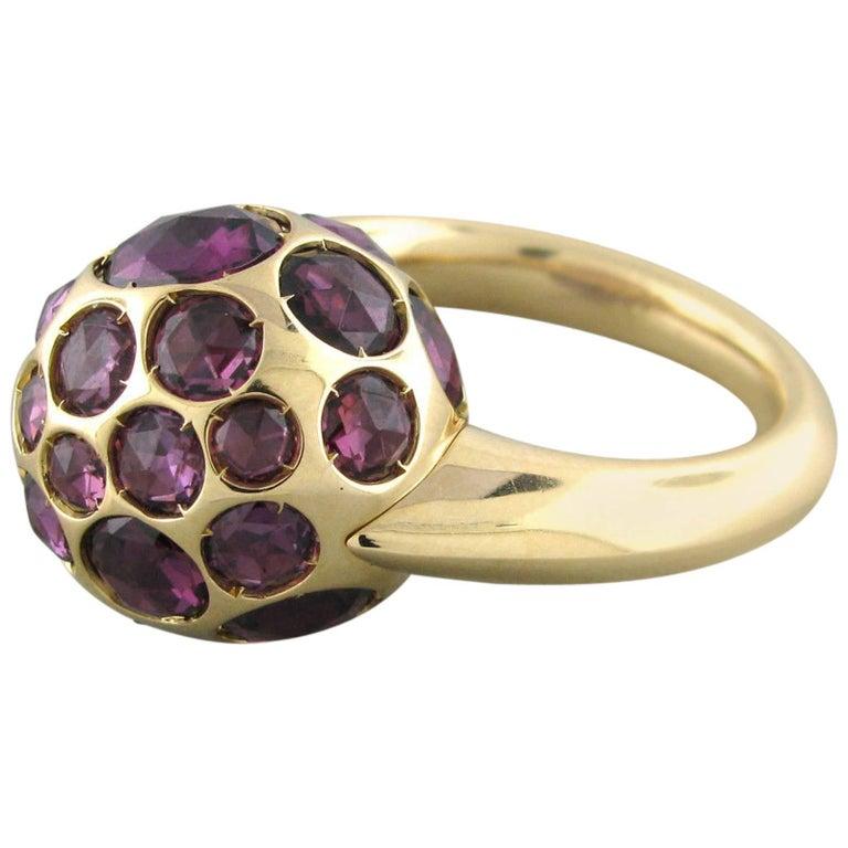 Pomellato Harem Rhodolite Garnet Gold Ring