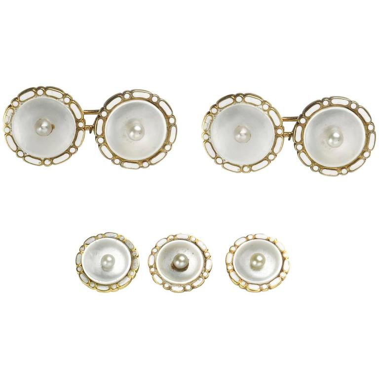Mother of Pearl Dress Set