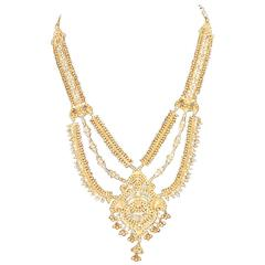 Amazing Gold Filigree Necklace