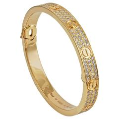 Cartier Diamond Love Bangle