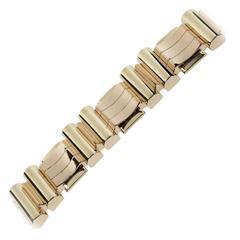 1940s Gold Tank Bracelet