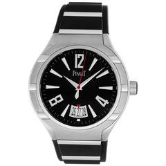 Piaget Titanium Stainless Steel Polo FortyFive Quartz Wristwatch Ref G0A34011