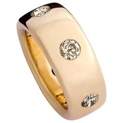 Colleen B. Rosenblat Diamond Gold Ring