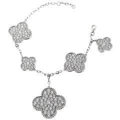 Van Cleef & Arpels Diamond Gold Magic Alhambra Bracelet