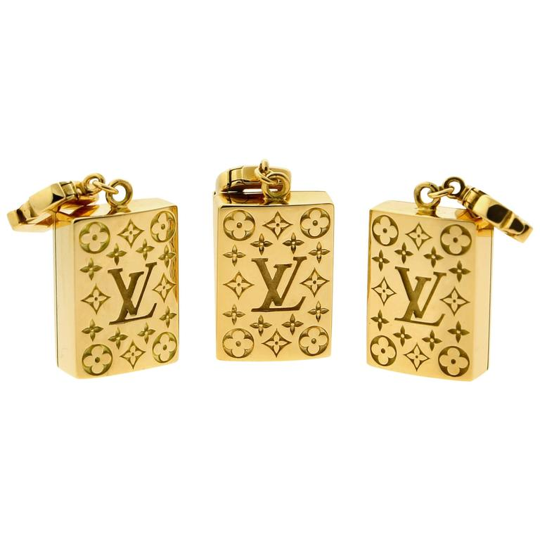 Louis Vuitton Limited Edition Mahjong Tile Gold Set For Sale