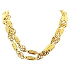 1970s Tiffany & Co. Link Gold Necklace