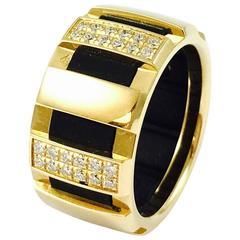 Chaumet Class One 18K Gold Diamond Ring