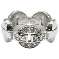 Cartier Himalia White Gold Diamond Band Ring