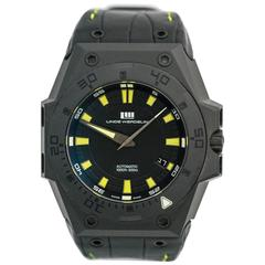 Linde Werdelin Hard Black II DLC Diver Swiss Limited Edition Wristwatch