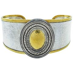 Gurhan Sterling Silver & Gold Cuff Btacelet
