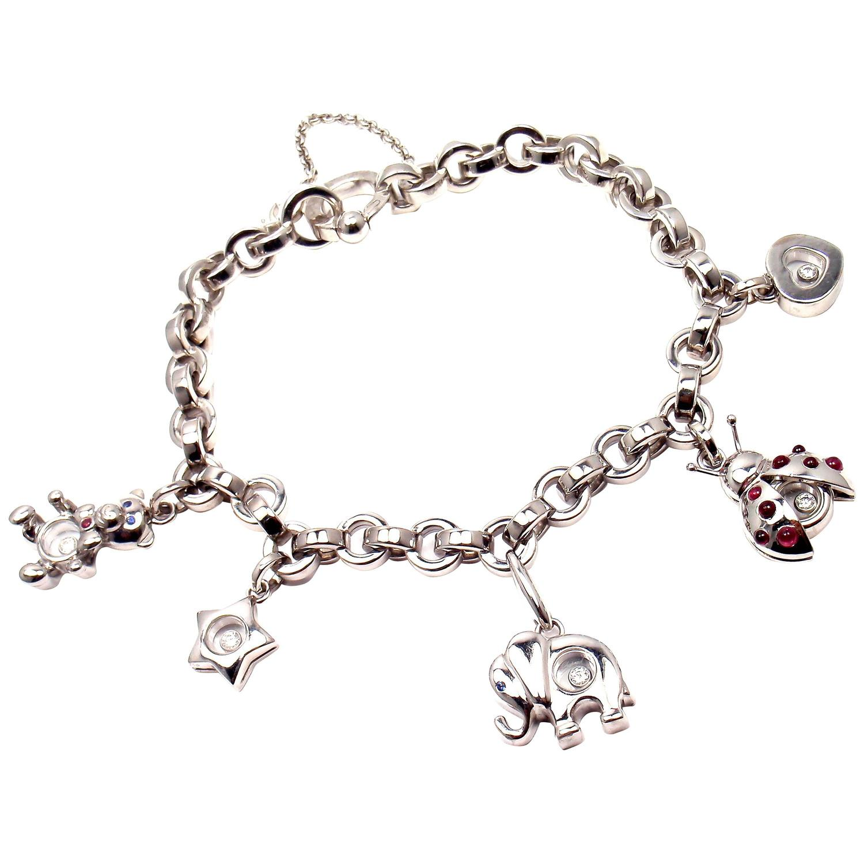 chopard happy diamond elephant ruby ladybug bear heart