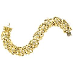 Beatrice Gold and Diamond Bracelet