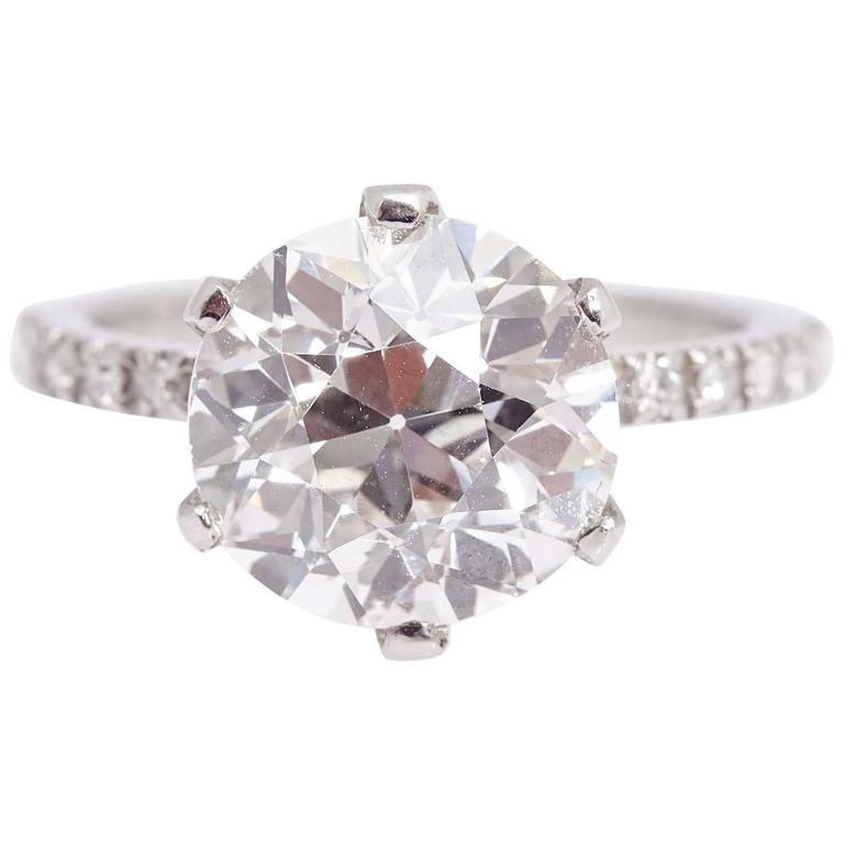 5.59 carat Diamond Engagement Ring