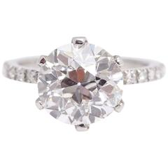 5.59 carat Diamond Engagement Ring