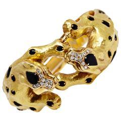 Italian Leopard Bracelet