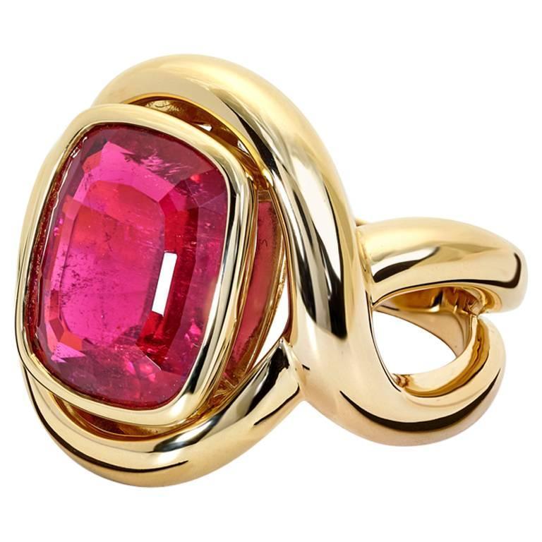 Severine Pink Tourmaline Ring