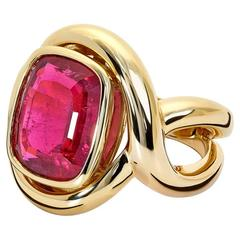 Severine Pink Tourmaline Ring