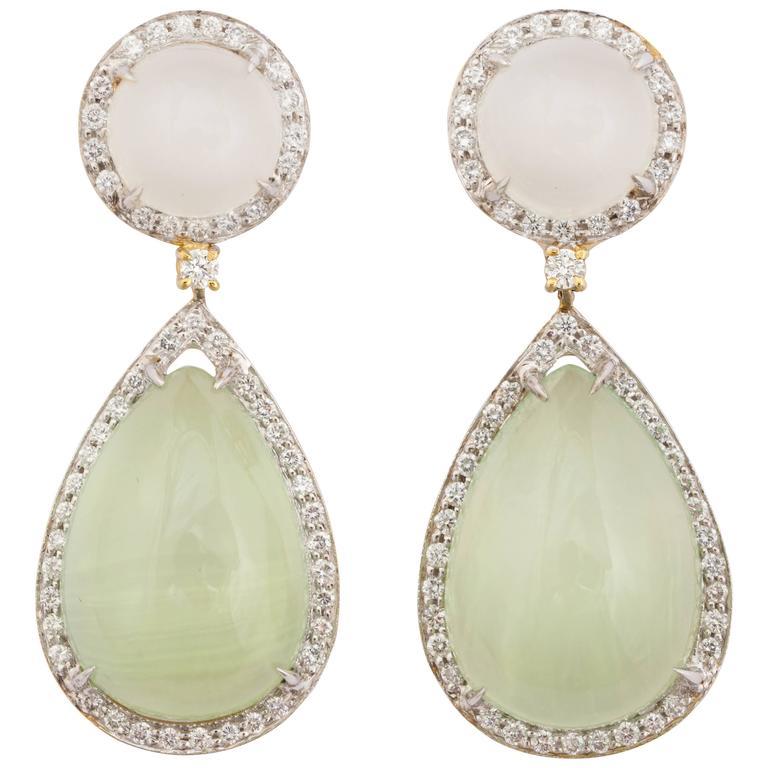 Faraone Mennella Grotta Verde Earrings