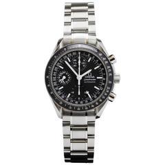 Omega Stainless Steel Speedmaster Triple Date Chronograph