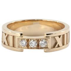 Tiffany & Co. Diamond Gold Atlas Ring