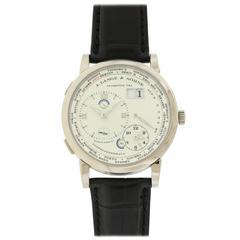 "Lange & Sohne Platinum Yellow Gold ""1815"" World Time Wristwatch"