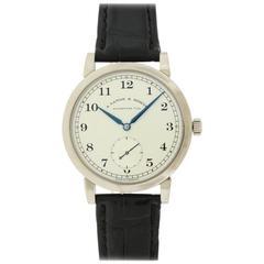 """Lange & Sohne White Gold """"1851"""" Wristwatch Ref 206.021"""