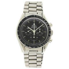 Omega Stainless Steel Speedmaster Professional Pre-Moon Wristwatch