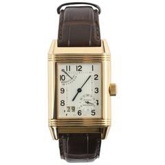 Jaeger LeCoultre Rose Gold Reverso Grande Date Wristwatch Ref Q3002401