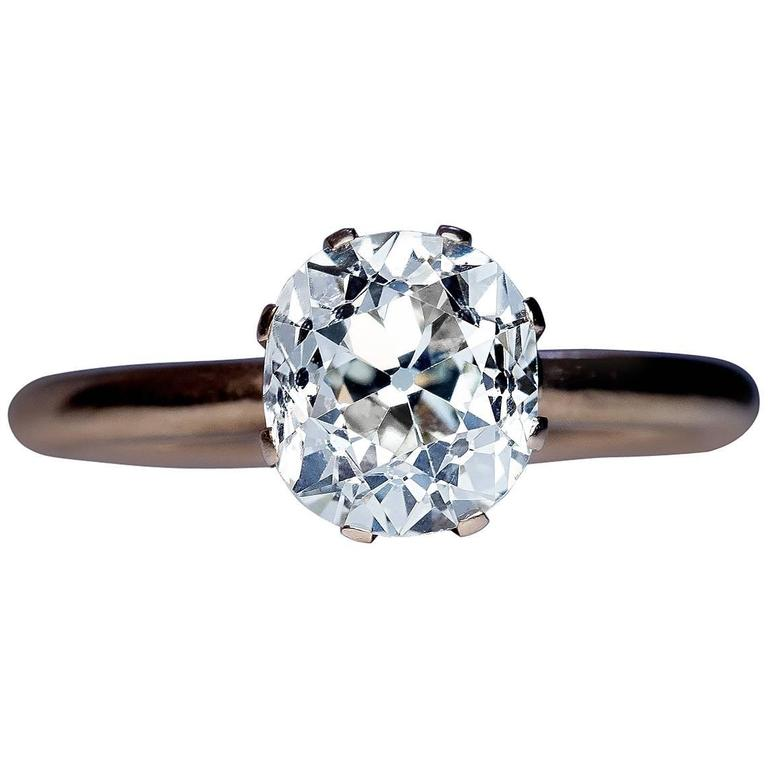 Inspirational Antique Cushion Cut Engagement Rings