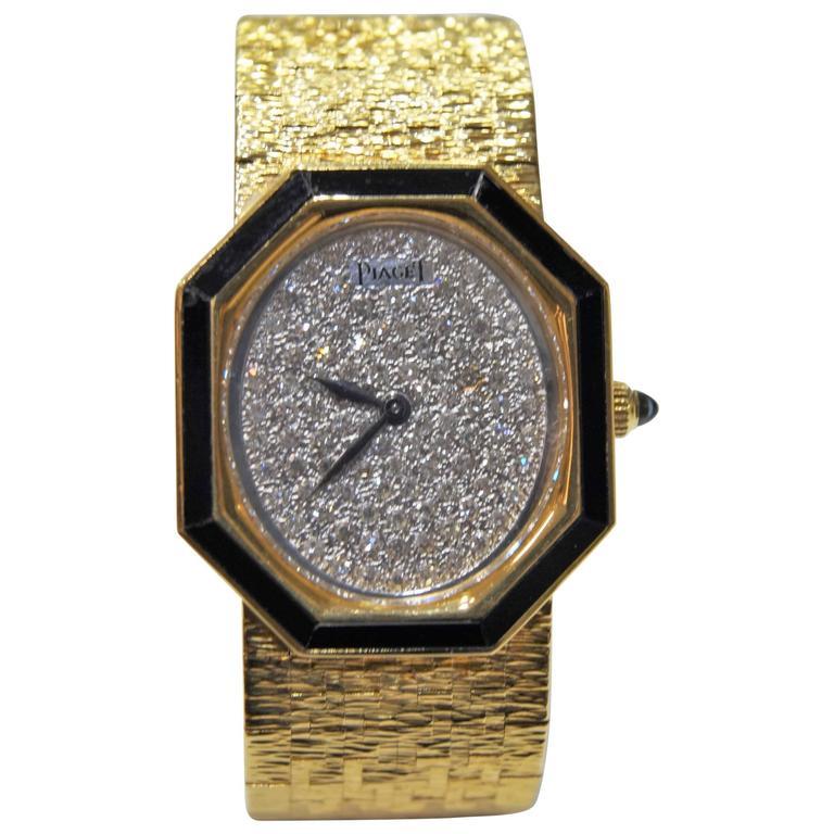 Piaget Yellow Gold Ladies Watch